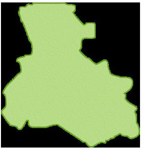 淡路・離島を除く兵庫県の地図